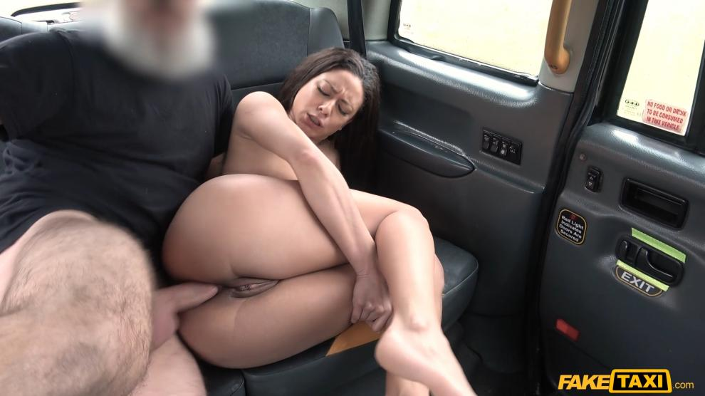 FakeTaxi – Anal sex with a French babe – Cassie Del Isla