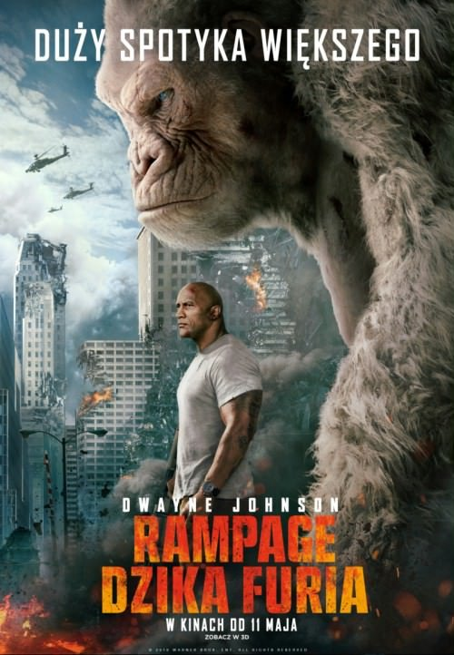 Rampage: Dzika furia / Rampage (2018) PL.BDRip.XviD-KiT / Lektor PL