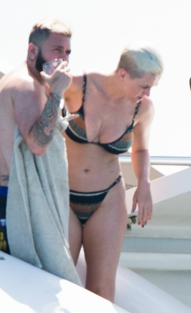 Katy Perry – on the Beach in Ibiza 6-27-18