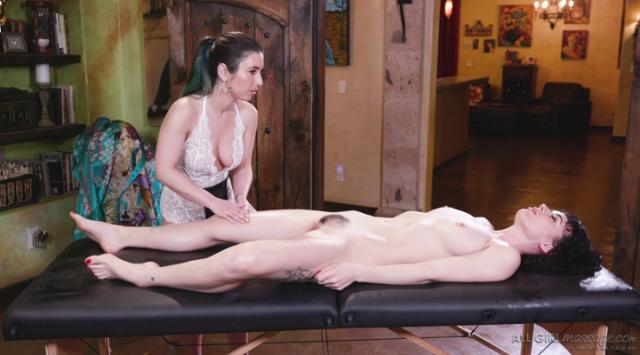 AllGirlMassage – Serena Blair And Olive Glass – Confronting My Sister