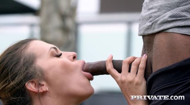 Private – Verona Sky – The Personal Trainer Enjoys Interracial Anal