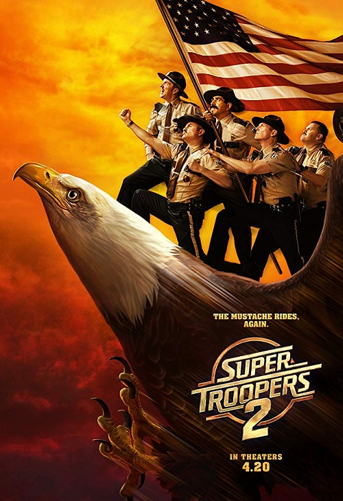 Straż wiejska 2 / Super Troopers 2 (2018) PL.720p.BluRay.x264.AC3-KiT / Lektor PL