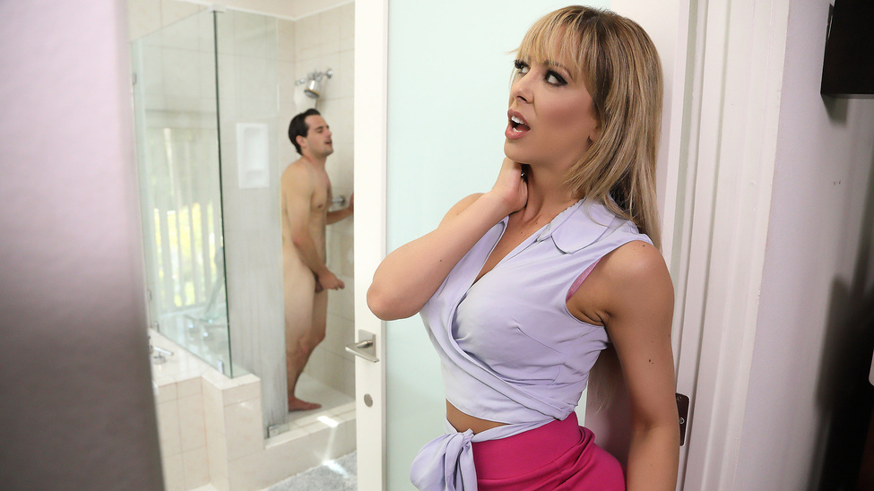 MilfsLikeItBig : Sneaking Around With Her BFF's Son – Cherie Deville