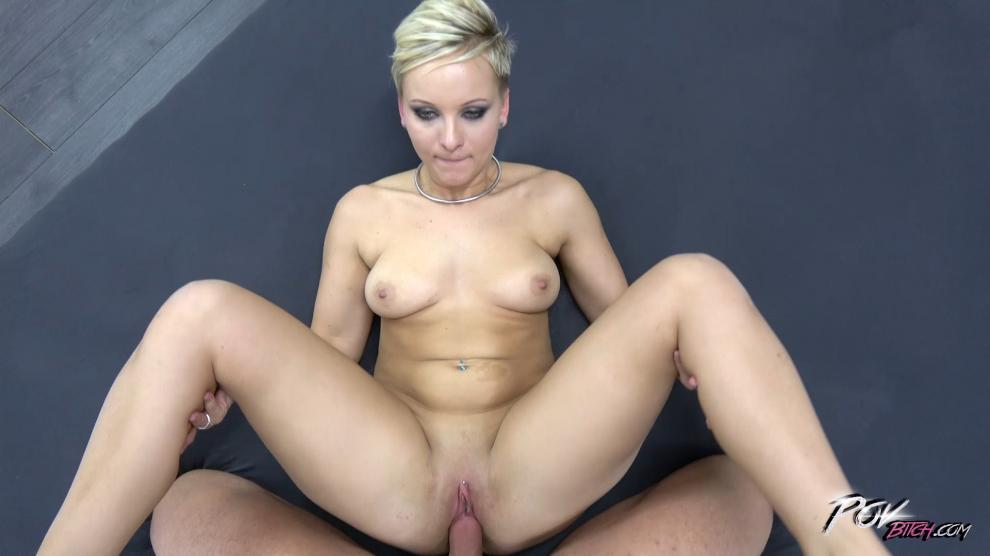POVBitch – Mary Key  – Short Haired MILF Gets A Creampie