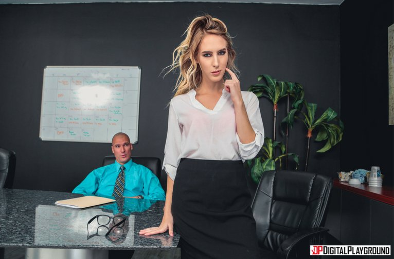 DigitalPlayground – Office Orgasms – Cadence Lux